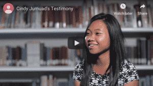 Cindy's Testimonies