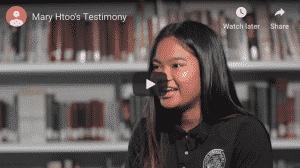 Mary's Testimony